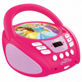 LEXIBOOK - DISNEY PRINCESS - Radio Lecteur CD Enfant