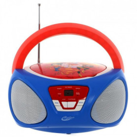 SUPER HERO GIRLS Boombox CR1-02393 - Radio-réveil