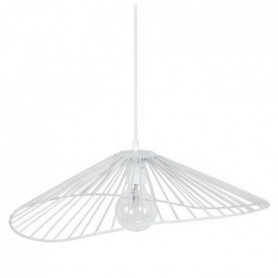 LADY Lustre - suspension filaire 50x44x13 cm blanc