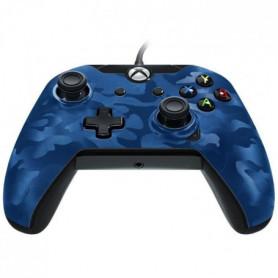 Manette PDP Afterglow Camo bleue V2 pour Xbox One