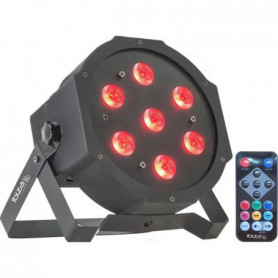 IBIZA LIGHT PARLED710 Projecteur a LED 7 x 10W RGB