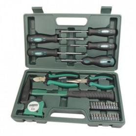MANNESMANN Lot de 31 outils - Vert et gris