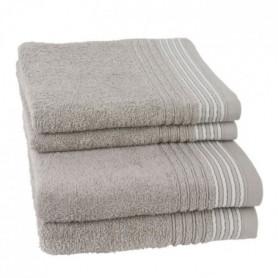 JULES CLARYSSE Lot de 2 serviettes + 2 draps de bain