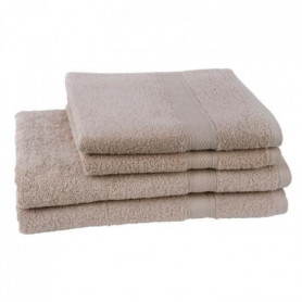 JULES CLARYSSE  Lot de 2 serviettes + 2 draps