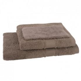 JULES CLARYSSE Lot de 1 serviette + 1 drap de bain