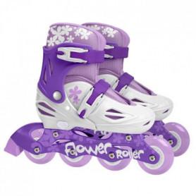STAMP Roller en ligne Enfant Fille Violet Ajustable 30-33