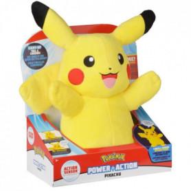 POKEMON Peluche Pikachu son & lumiere - 30 cm