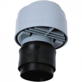WIRQUIN Anti-vide droit excentré VP100 - Pour tube Ø 80 a 110 mm