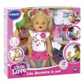VTECH - Little Love - Léa Découvre le Pot - Poupée