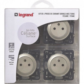 LEGRAND Celiane Lot 4 prises de courant