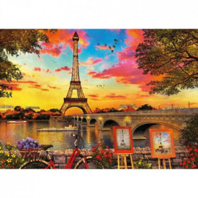 EDUCA Puzzle 3000 Coucher De Soleil A Paris
