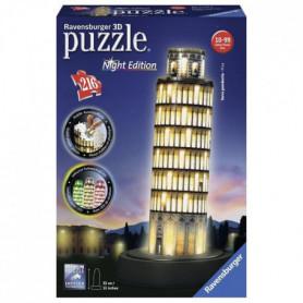 RAVENSBURGER Puzzle 3D Tour De Pise Night Edition