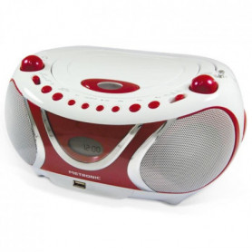 MET 477117 Radio CD-MP3 Cherry