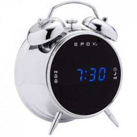 BIGBEN RR90EPOKS Radio Réveil EPOK - Double alarme