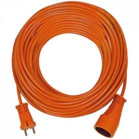 BRENNENSTUHL Rallonge électrique orange 20m 2P 16A