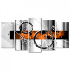 Tableau Décoration Abstraite Cercles en Mouvement