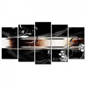 Tableau Déco Abstraite Hamman - 150x80 cm
