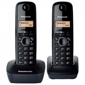 Panasonic KX-TG1612FRH Duo Téléphone Sans Fil Sans Répondeur