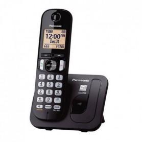 PANASONIC téléphone DECT solo noir sans répondeur