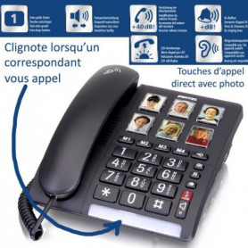 Téléphone sénior Fixe SWITEL TF540