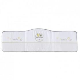 TANUKI Tour de lit Indian - 100% coton -  40x180x3 cm