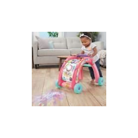SPLASH TOYS Activity Walker Trotteur 3 en 1 Rose