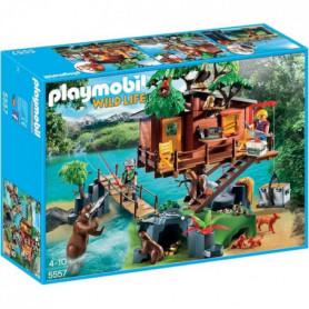 PLAYMOBIL 5557 - Wild Life - Cabane des aventuriers