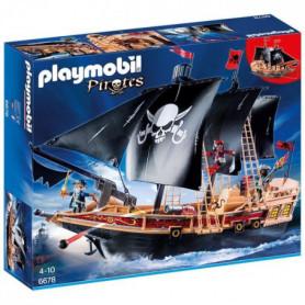 PLAYMOBIL 6678 - Pirates - Bateau Pirates des Ténèbres