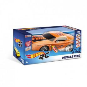 MONDO - Hot Wheels - Muscle King - Voiture Radiocommandée