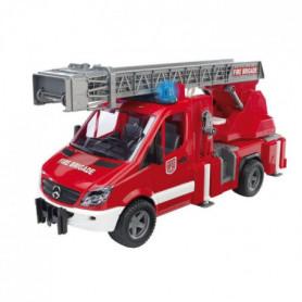 BRUDER - 2532 - Camion de pompier Mercedes Benz