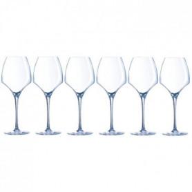 CHEF ET SOMMELIER  Lot de 6 Verres a vin UNIVERSAL