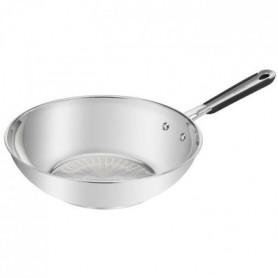 TEFAL Poele wok Pro Inox - Ø 28 cm - Induction