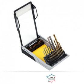 PEUGEOT Coffret 37 pieces métal/béton/vissage - 37 pieces