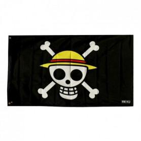 Drapeau One Piece - Skull - Luffy (70x120)
