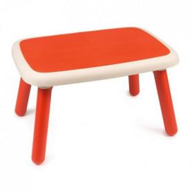 SMOBY - Kid Table Intérieure / Extérieure Rouge