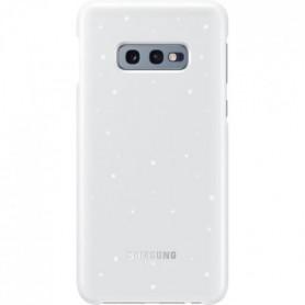 Samsung Coque avec affichage LED S10e - Blanc