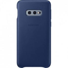 Samsung Coque en cuir S10e - Bleu marine