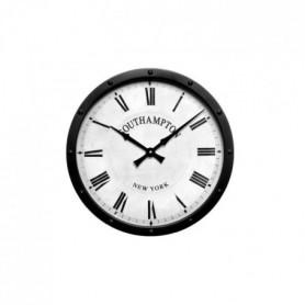 Horloge en métal noir - Ø 41cm