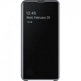 Samsung Clear View cover S10e - Noir