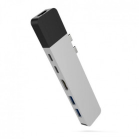 HYPER NET Hub USB-C MacBookPro - Argenté