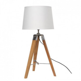 NATURAL2 Lampe a poser avec pied tripod en bois