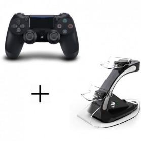 Manette DualShock 4 Sony + Station de Recharge