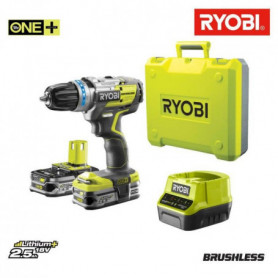 RYOBI Pack Perceuse-visseuse sans fil + 2 Batteries