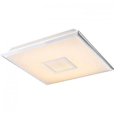 Plafonnier LED Chrome 8x46,5x46,5cm