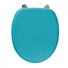 FRANDIS Abattant WC Rubber en bois bleu