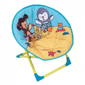 Fun House T'choupi siege lune pliable pour enfant