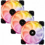 CORSAIR Ventilateur HD120 RGB - Diametre 120mm