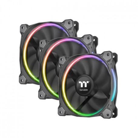 Thermaltake 3 Ventilateurs de boîtier Riing 12 RGB