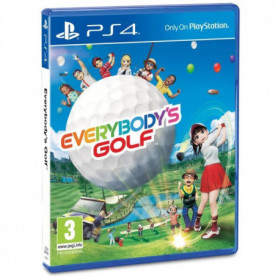 Everybody's Golf Jeu PS4