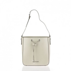 ARMANI JEANS - Sac a Bandouliere Beige a Coulisse
